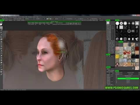 3D Coat - Texture a head using reference images #2 - YouTube