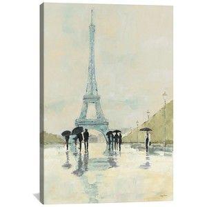 Icanvas 'April In Paris - Avery Tillmon' Giclee Print Canvas Art