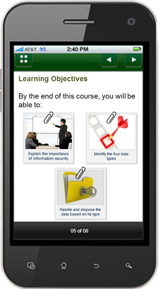 Adobe Captivate - the best authoring tools for mobile learning.