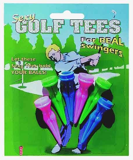 A great addition to any Bachelor party heading to do a little golf... its the inexpensive and colorful Sexy Golf Tees in a 5 pack!! Great Discount Bachelor Party Supplies all at www.BachelorettePartyFun.com http://www.bachelorettepartyfun.com/bachelor-party-games/sexy-golf-tees/