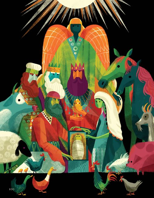 """Nativity Scene from """"The Biggest Story"""" by Invisible Creature @icreature"""