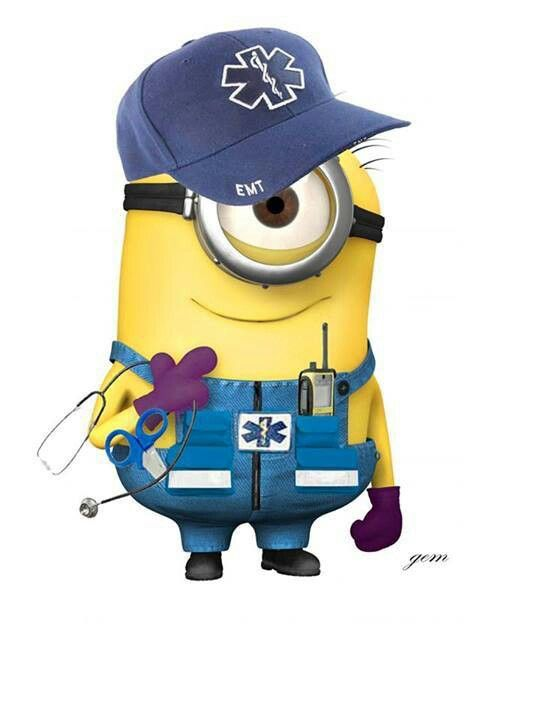 EMS Minion! | EMT/Paramedic | Pinterest | Minions, Ems and ...