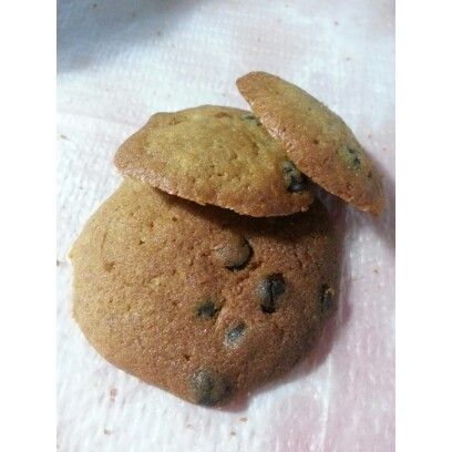 Chocolatechips cookies. Really sweet and yummy !