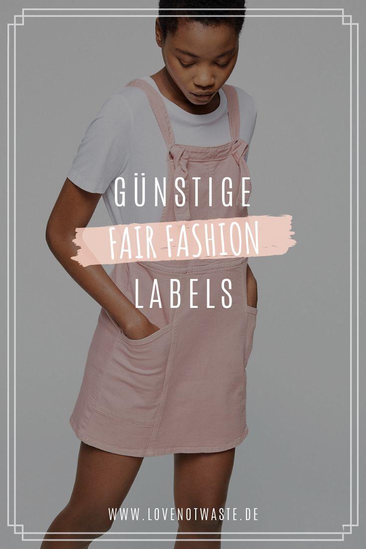Fair Fashion Labels für den schmalen Geldbeutel ...