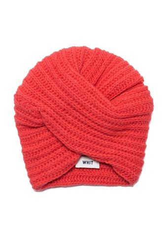 Whit Knit Wool Turban, $168, available at Bird, 220 Smith Street (at Butler Street); 718-797-3774.