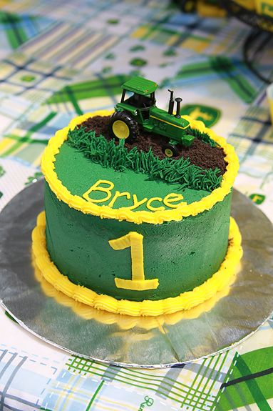 John Deere Smash Cake | Heather Drive