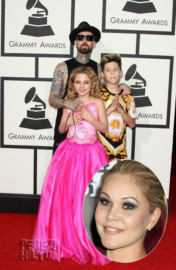 Travis Barker Files To Change Child Custody Arrangement With Ex Shanna Moakler — Claims She Has Drugs & Guns In The House!