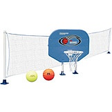 Above-Ground 2-in-1 Basketball/Volleyball Combo Game - Toys & Games - Pools & Accessories - Swim Accessories