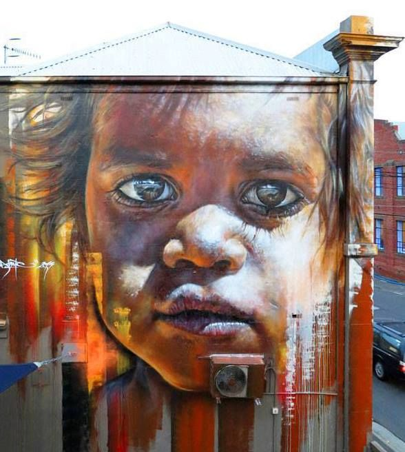 Foto: • ARTIST . MATT ADNATE •  ◦ Untitled ◦ location: Melbourne, Australia