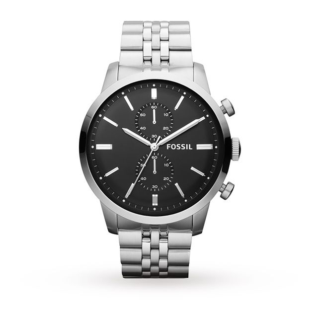 Fossil Chronograph Stainless Steel Watch #Jewellery