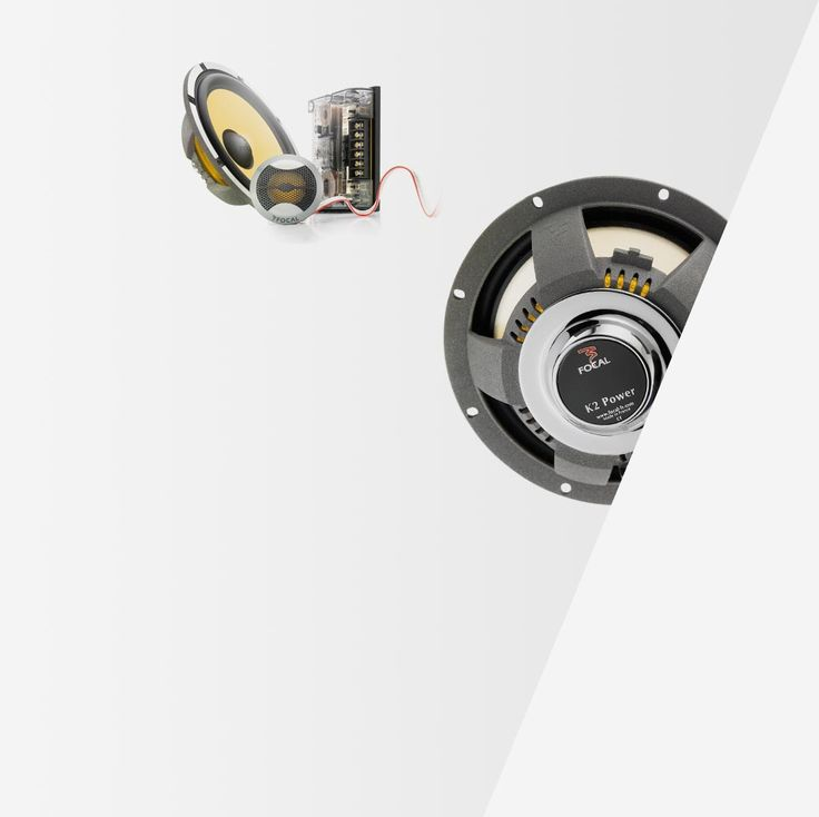 Focal 165 KRXS, Car Audio high end 2 way speakers kit