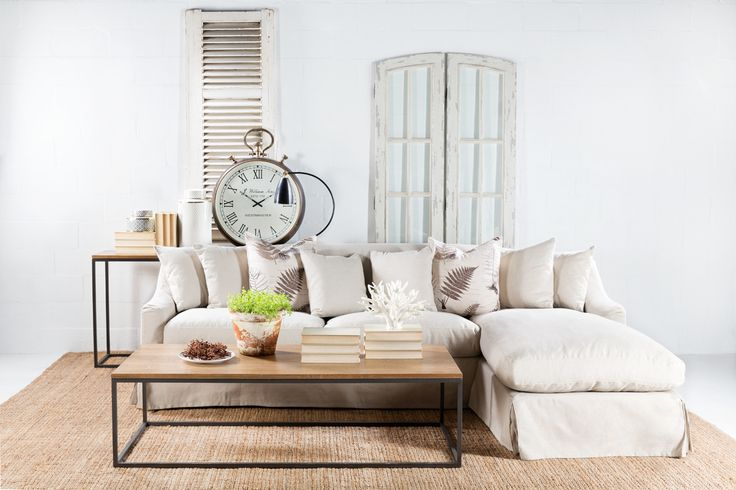 Our Blair L shape sofa coupled with our locally manufactured Lillian collection.