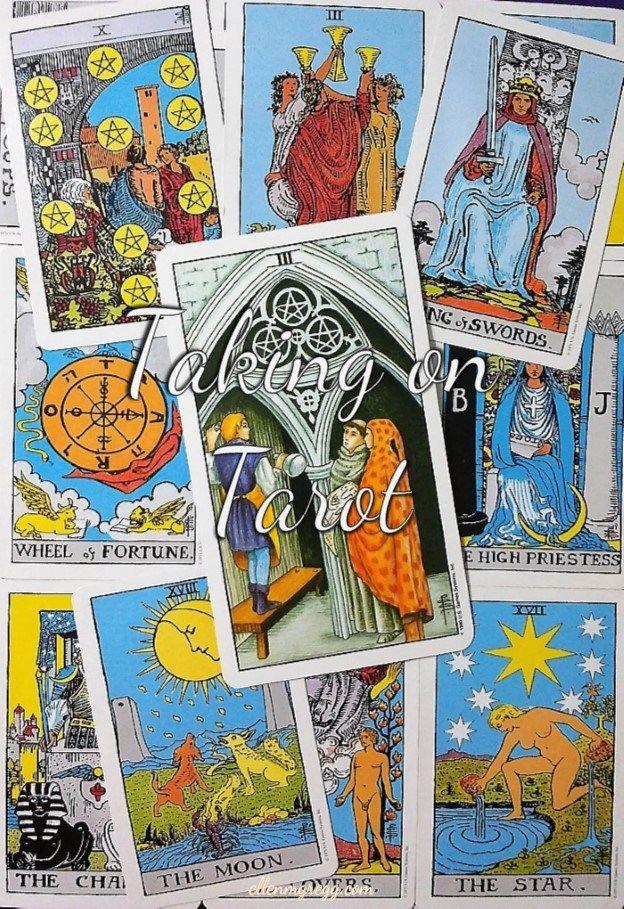 Three Of Pentacles: Taking On Tarot Self Study