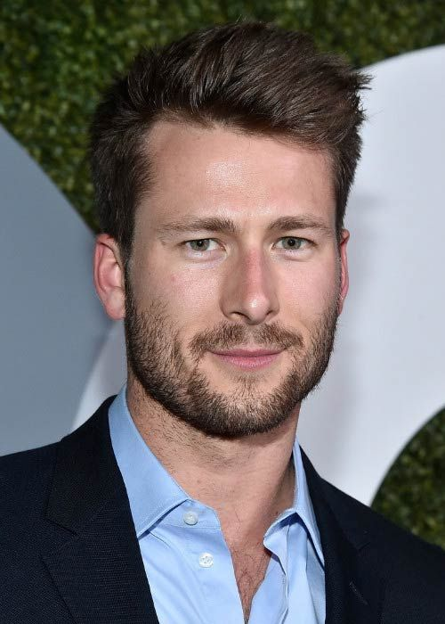 Glen Powell at the 2016 GQ Men of the Year Party...