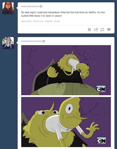 Yes, the show is beautiful!... And then there are the Lemongrabs... -___-