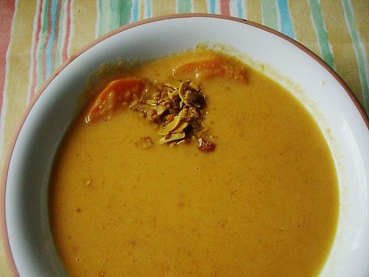 Süßkartoffel - Kokos - Suppe