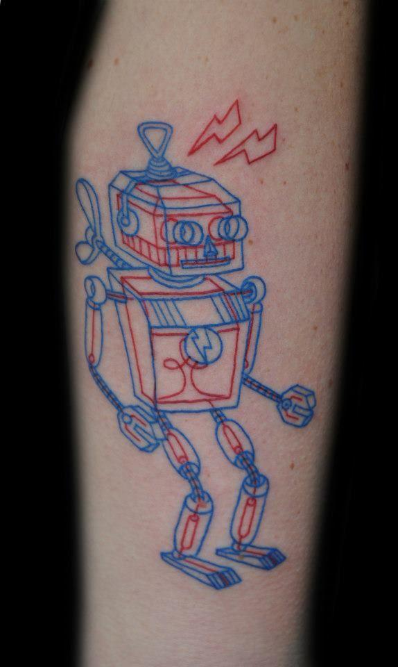 """3d effect"" tattoo from Joker a tattoo shop in Turku Finland. It"