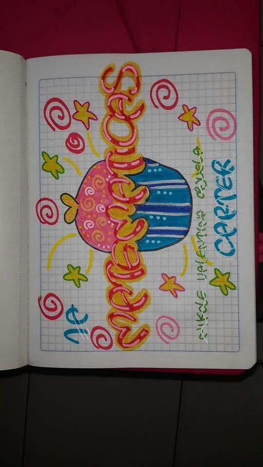 Letras De Decoracion Para Cuadernos ~ Para Cuadernos Escolares on Pinterest  Car?tulas Para Cuadernos