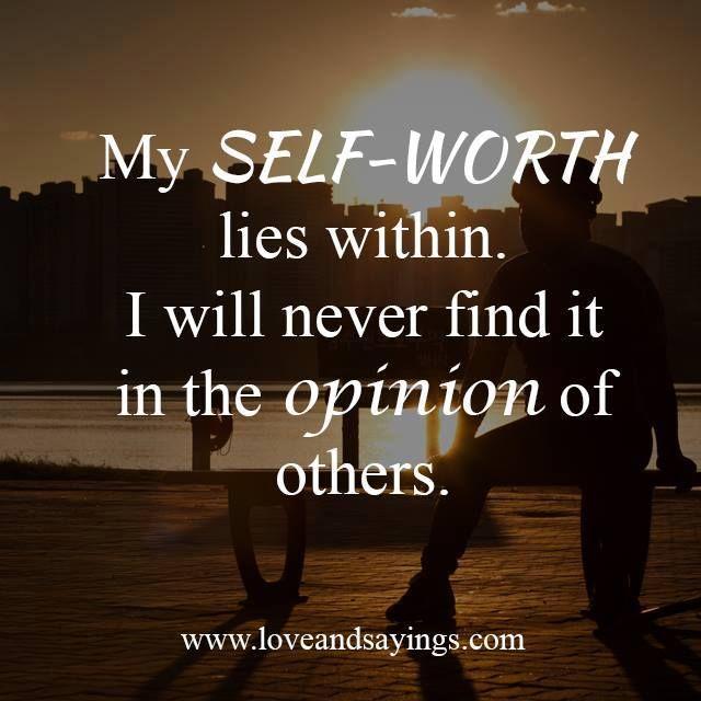 Positive Self Esteem Quotes: 130 Best Self Worth Images On Pinterest