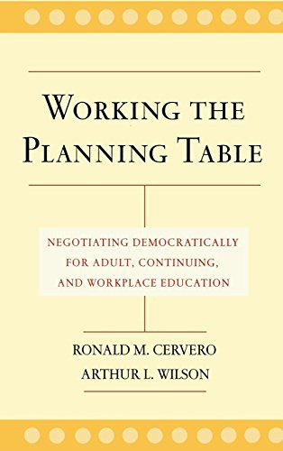 If you will be involved in planning educational programs in the near future, this is an excellent book for coming up to speed on how to work through the planning process.