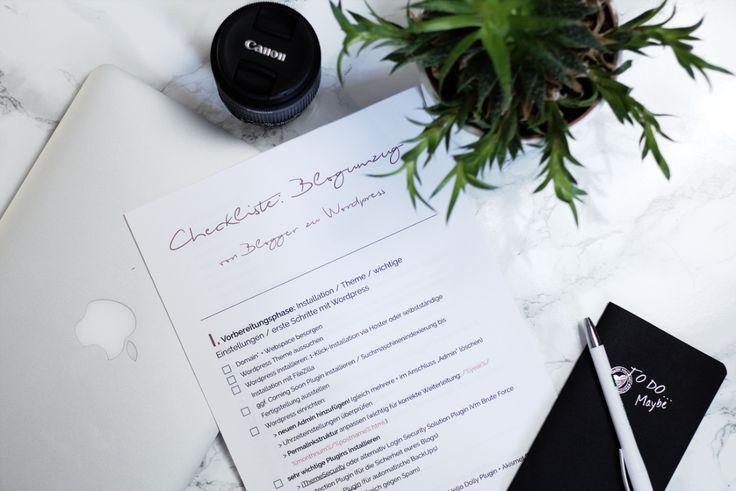 Umzug von Blogger zu WordPress   Checkliste