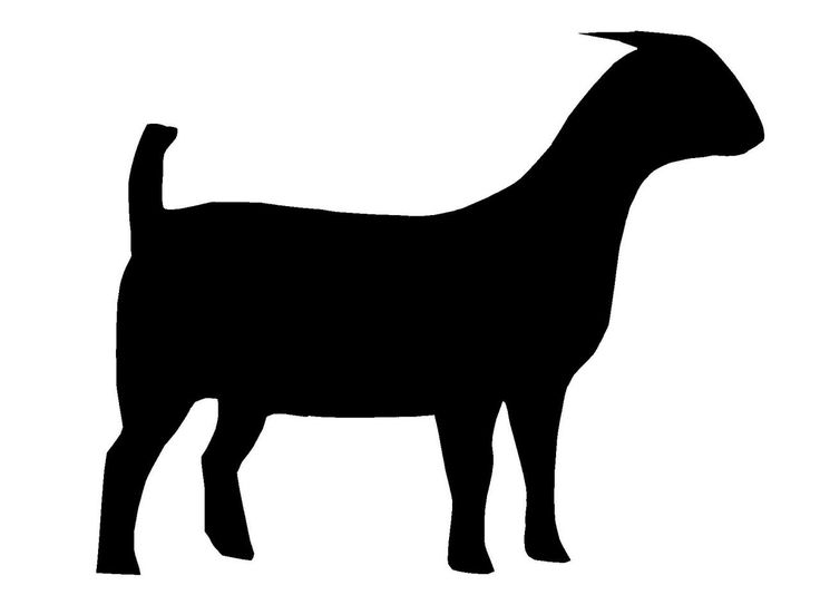 Boer Goat Silhouette | Clipart Panda - Free Clipart Images ...