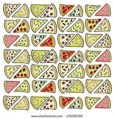 Arte e grafica vettoriale d'archivio di Pizza Slice | Shutterstock