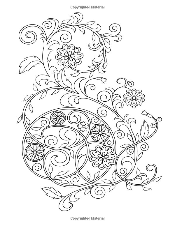 Coloring Book For Adults Amazing Swirls Happy Coloring