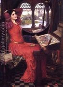 I am Half Sick of Shadows, Said the Lady of Shalott c.1916  by John William Waterhouse