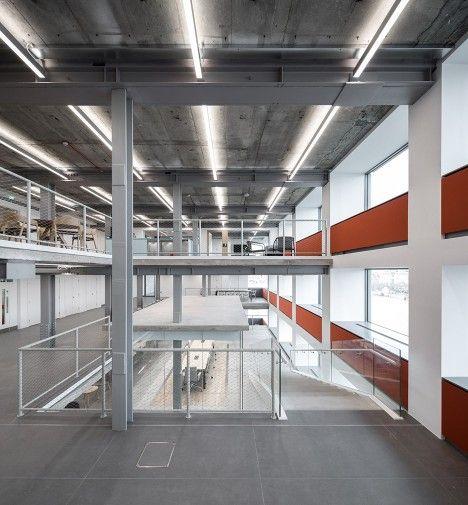 17 best images about offices on pinterest studios for Office design dezeen