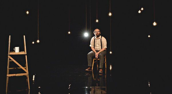 It's Always Right Now, Until It's Later. Daniel Kitson at St. Ann's Warehouse. 2012.    Storytelling that, in another's hands, might dissolve into cheap sentimentality is rendered vibrantly, full of surprise and danger. Brilliant.
