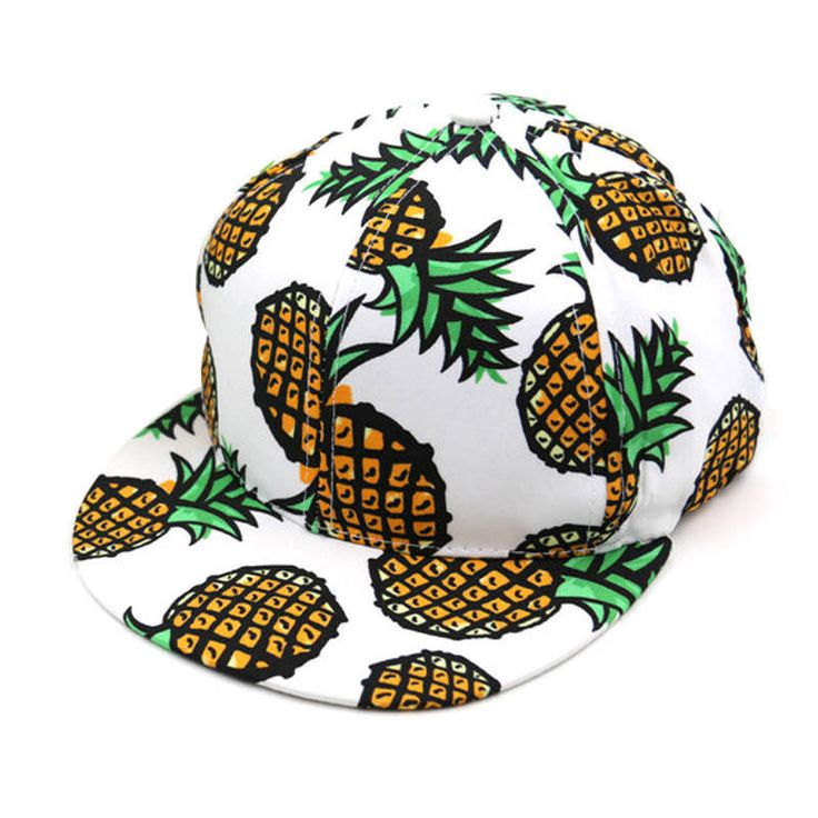 Unisex Hat Pineapple Snapback Boy Cap Adjustable Thick Baseball Cute Hip Hop | eBay