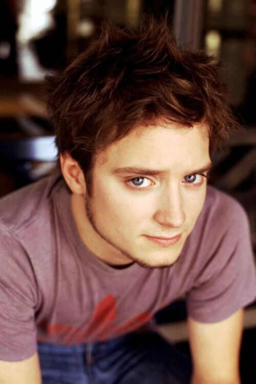 Elijah Wood!    No it's Frodo  Lol (he probably gets sick of hearing that)