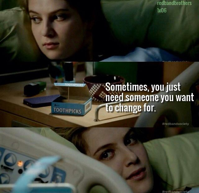 Red Band Society. Kara and Hunter