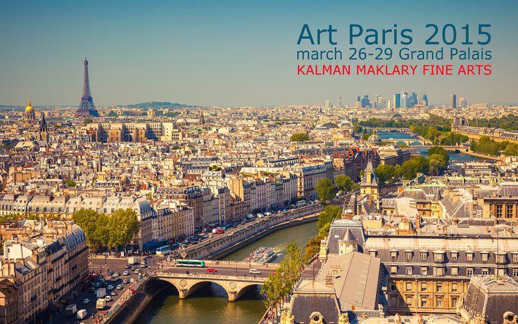 save the date Art Paris 2015