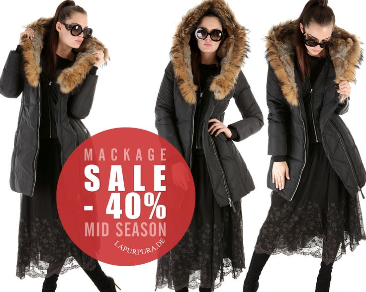 MACKAGE * SALE FW14 * Onlineshop www.lapurpura.de #mackage #daunenjacke #daunenmantel #jacket #coat #fw14 #winter2014 #sale