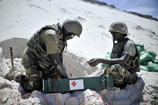 Safe Disposal of Captured Munitions by AMISOM | Flickr - Photo Sharing!