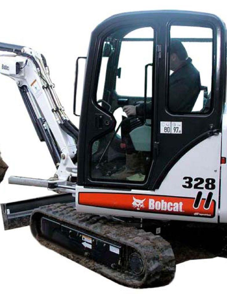 Bobcat 325 Compact Excavator Manual Hydraulic Systems Repair And Maintenance Repair