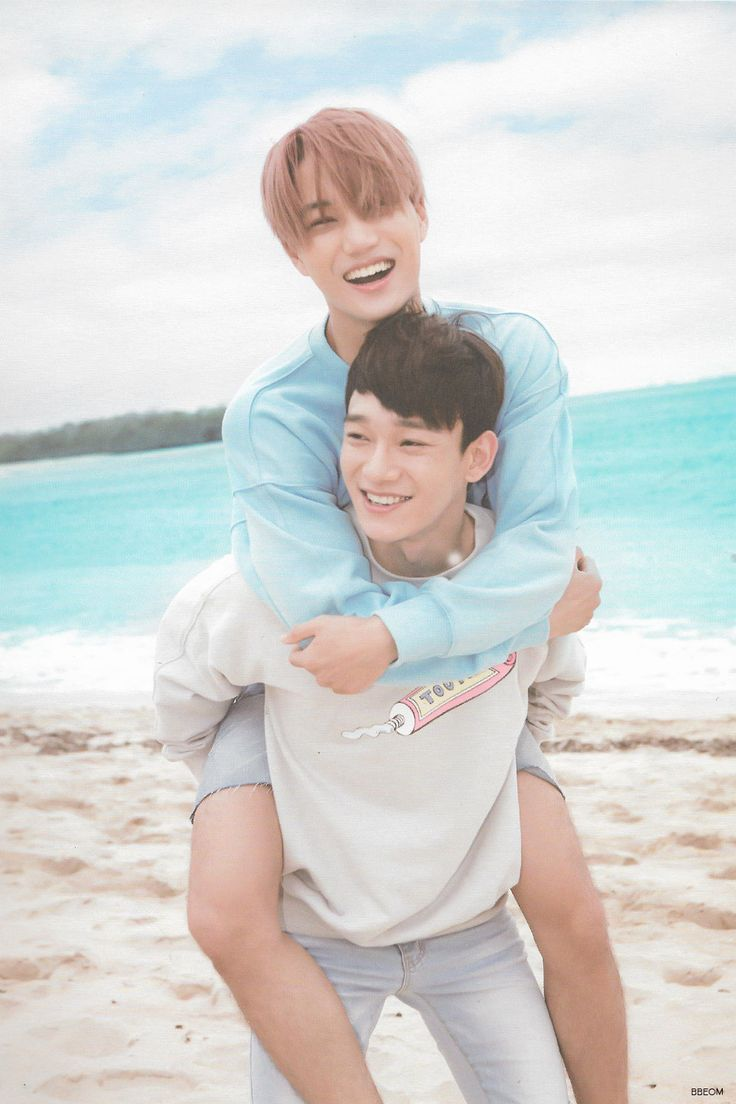 EXO (엑소) Kai (카이) & Chen (첸) from Dear Happiness photobook