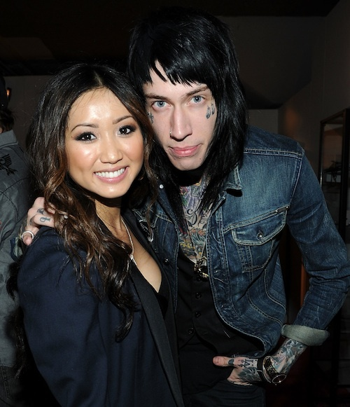 Brenda Song + Trace Cyrus