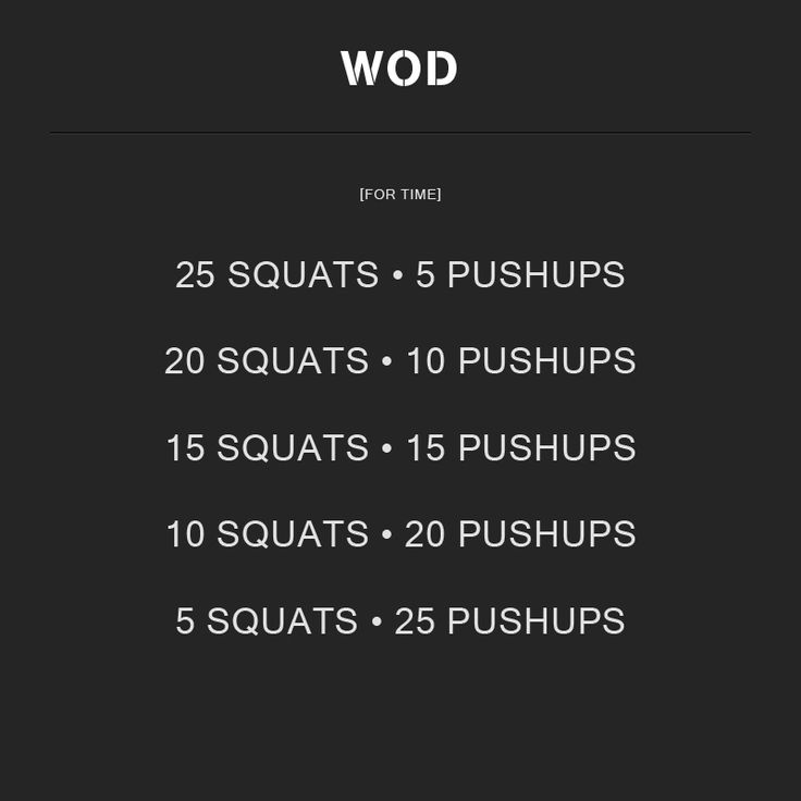 Crossfit Workouts: WOD Number 2. #WOD #crossfit