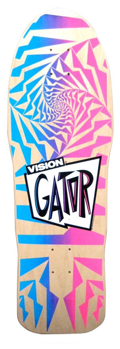 Vision Original Old School Reissue Gator 2 Skateboard Deck