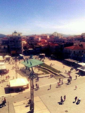 Tripoli, Greece, Petrinou square