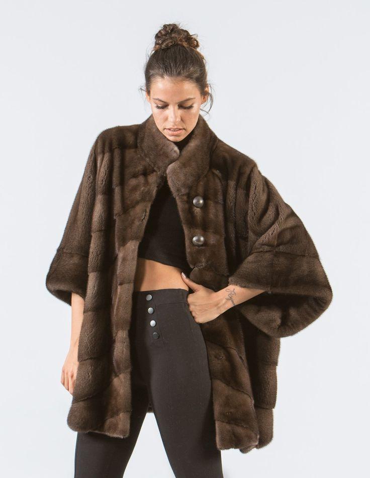 Mocha Brown Mink Fur Jacket    #brown #mink #fur #jacket #real #style #realfur #elegant #haute #luxury #chic #outfit #women #classy #online #store