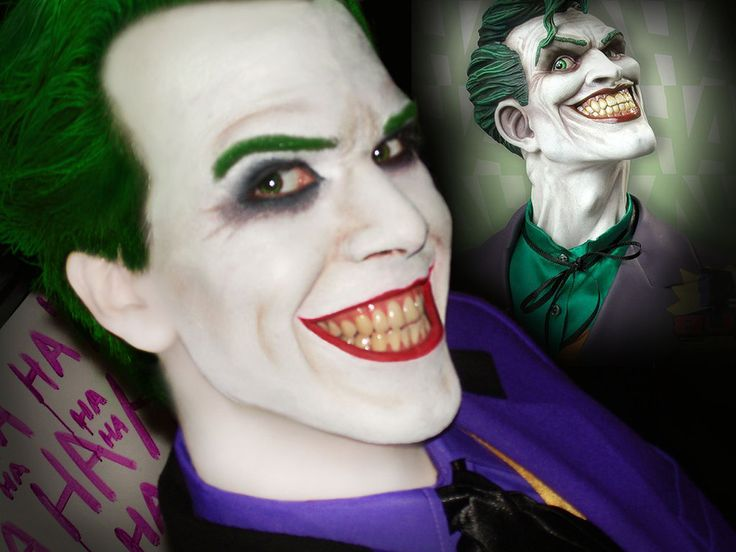 Joker Make-Up Esta-test by AlexWorks.deviantart.com