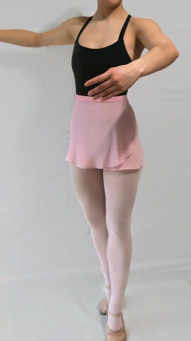 Women's Chiffon Ballet wrap skirt A-Line by JustMyStyleBoutique