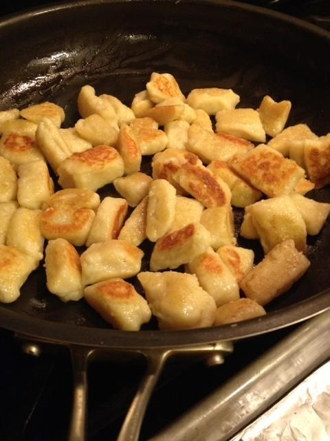 Need to use up leftover ricotta cheese? Make gnocchi! Here is The Chopping Block's recipe.