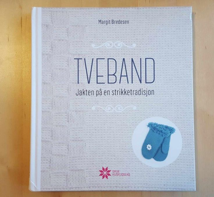 This is a very interesting book about the Norwegian twined knitting tradition. Translated to English the title would be so...