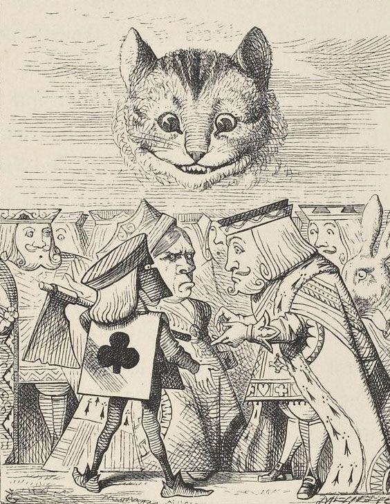 Les 25 meilleures id es concernant john tenniel sur pinterest illustrations - Montre alice au pays des merveilles ...