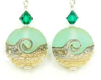 handmade lampwork glass bead u0026 gemstone jewelry by